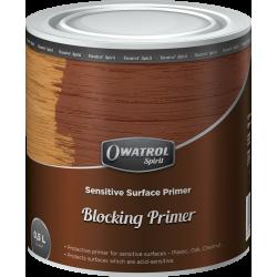 OWATROL BLOCKING PRIMER - Ochranný základní nátěr na povrchy velmi savé a citlivé na kyseliny